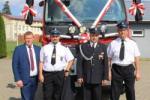 Poświęcenie samochodu strażackiego OSP w Topczewie