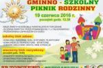 Gminno - Szkolny Piknik Rodzinny w Topczewie, 19.06.2016 r.